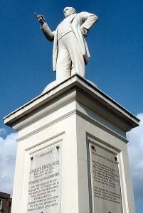 Charles Bradlaugh statue, Northampton