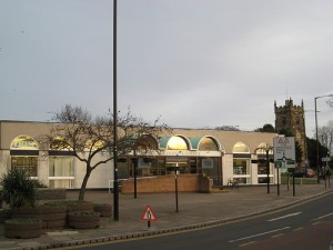 Nuneaton Library. Photograph by Oliver & Karl
