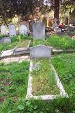 C.E.M. Joad's grave. Photograph by Iain MacFarlaine