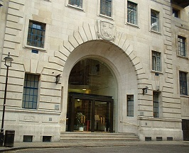 London School of Economics main entrance