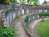 The catacombs at Warstone Lane Cemetery